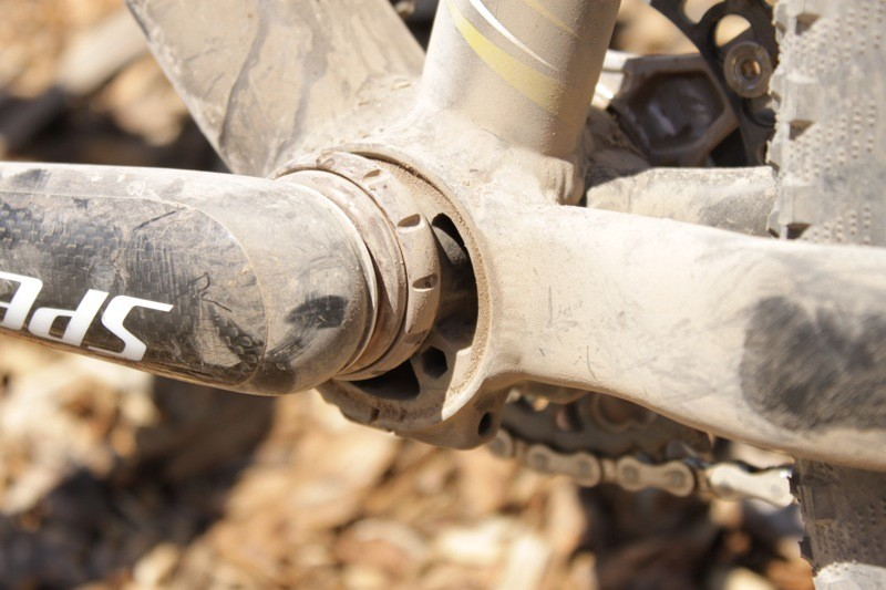 Zipp's Vuka Quad bottom bracket fits a 30mm crank spindle to a standard bottom bracket shell