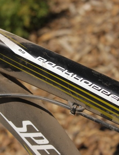 The Rockhopper SL's M4 alloy tubes are butted, formed and feature smooth welds in areas of high stress