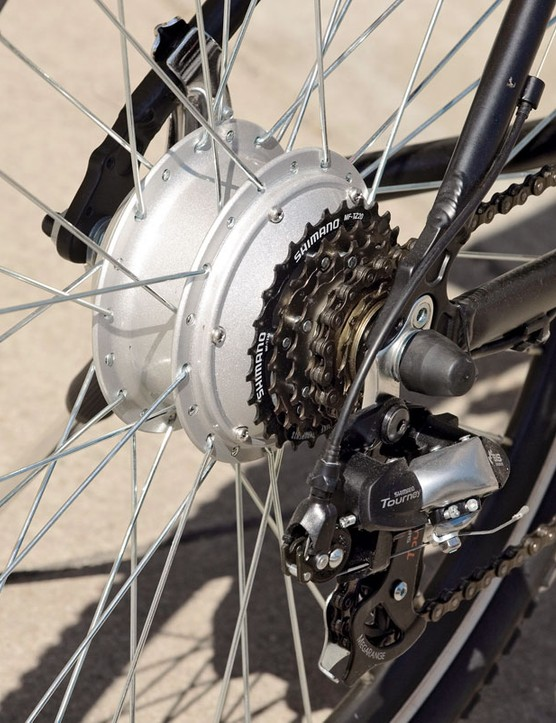 Altus 7-speed gearing