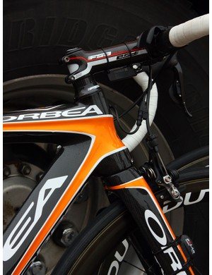The latest Orbea Orca again features a tapered front end.