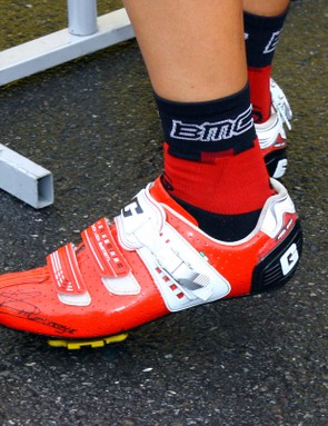 Gaerne has crafted bright red G.Myst Plus shoes for the BMC team.
