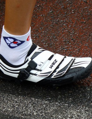 Bont has founds its way on to a lot more feet at this year's race than in years past.