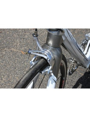 Athena's dual-pivot front brake can be paired with a single- or dual-pivot rear brake