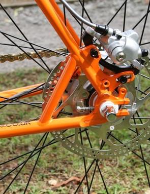Tektro cable disc brakes