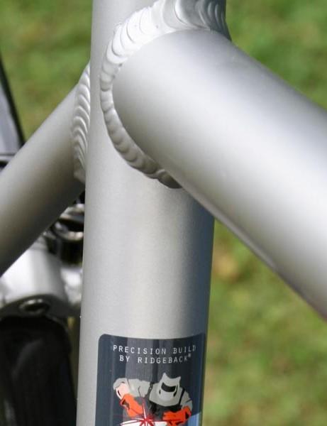 Ridgeback Platinum weld detail