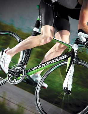 The Slice is light and climb-friendly with long-haul comfort