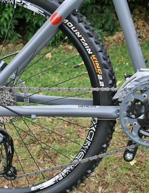 Genesis Core 40 uses a mix of Shimano Deore and SLX for shifting