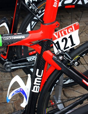 BMC frames have always been easy to spot from a distance and the latest Impec is no different.