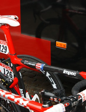 George Hincapie (BMC) also gets a little bit of customization on his Impec.