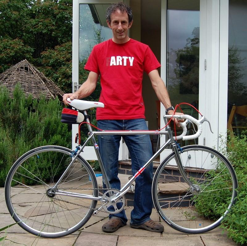Nice bike Andy!