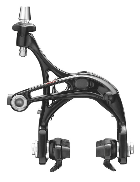Dual-pivot front brakes across the board, but choices in 2011 for the rear brake design