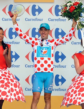 Anthony Charteau, this year's mountains classification winner