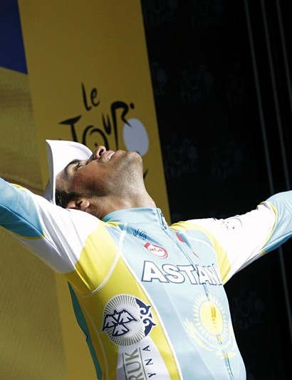 Alberto Contador: happiness and relief at all but winning his third Tour