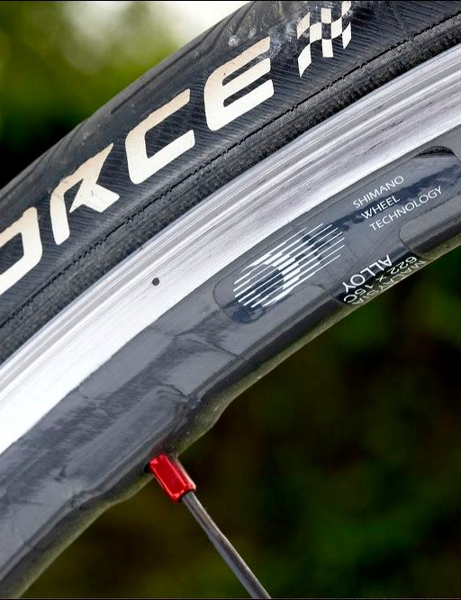 Shimano's superb Dura-Ace carbon wheels are great all-rounders