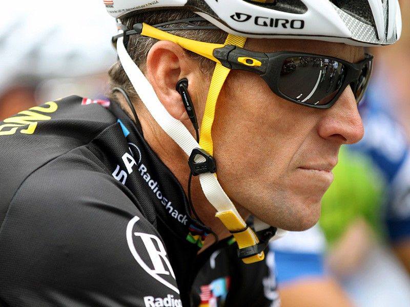 Lance Armstrong finished the Tour in 23rd place, but his battles are far from over