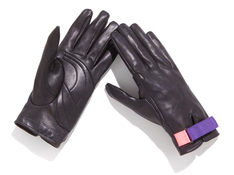 Leather town gloves