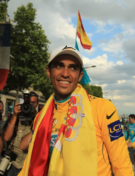 Alberto Contador, now world number one