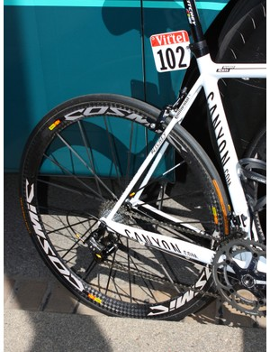 Omega Pharma-Lotto bikes have been fitted with Mavic's Cosmic Carbone Ultimate for much of the this year's Tour de France.