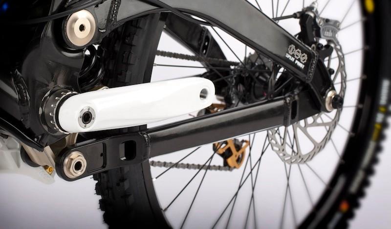 Devinci's 2011 Wilson downhill bike will sport the Split Pivot design