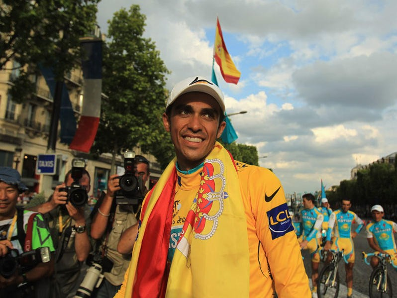 Alberto Contador will leave Astana at the end of this year