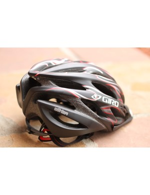 Giro's 2011 Athlon sports the new Roc Loc 5 retention system