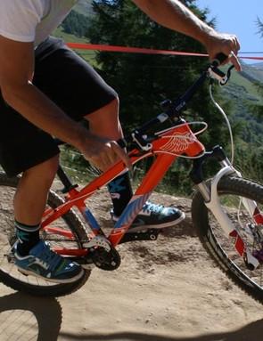 GT Bomba rider