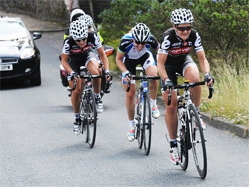 Sharon launches an attack against Nicole Cooke and her Cervelo team-mates in the Nationals