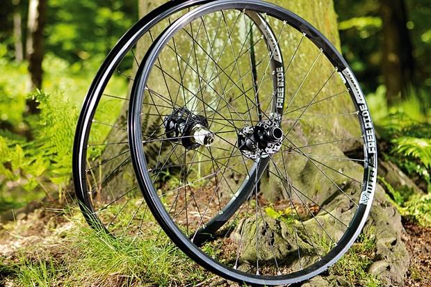 WTB LaserDisc FR wheelset