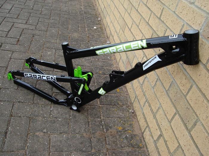 Prototype Saracen Ariel slopestyle bike