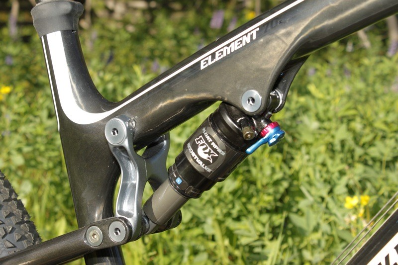 d826245563b The ProPedal lever is very easy to reach when riding, as it's more than 6in