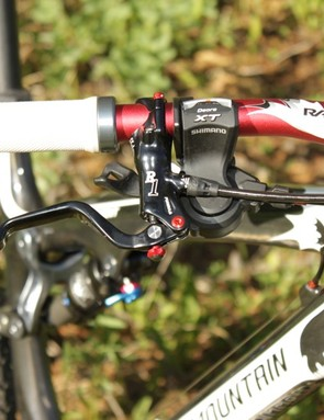 Formula's R1 brakes preformed flawlessly and we loved the Rocky Mountain XC grips