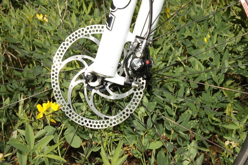 a70b29f7803 The Formula R1 brakes were plenty powerful and don't need the supplied  180mm rotor