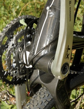 We believe the routing and Jagwire cables contributed to the Element 70's sub-par shifting