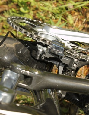 Rocky use a direct mount for the E-type front derailleur
