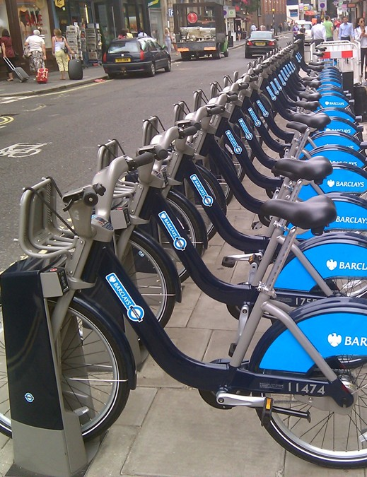 More docking stations are being built across the British capital