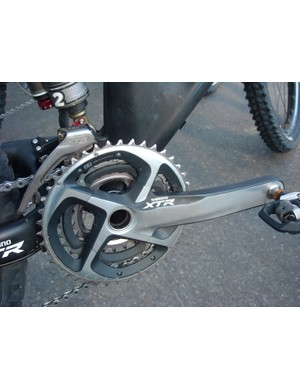 All new triple chainset