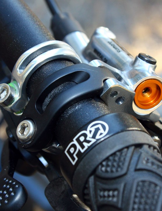 Finally!  All new Shimano XTR brake levers will include hinged clamps