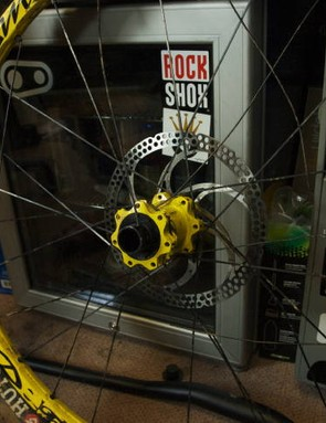 Yeah, a few spokes went awry too