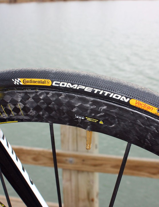 We've gotten a smoother and more supple ride out of other tubulars but Continental's Competition model are still very good but with solid durability, too