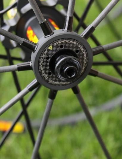 Both Exalith SLR wheels share the same Tracomp Exalith rear wheel