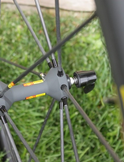 The R-Sys Exalith front hub