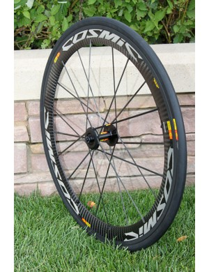 Mavic's 2011 Cosmic Carbone SLR sports an Exalith rim