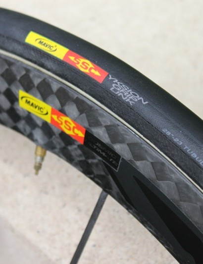 While the CCU isn't new for 2011, it will be sold with Mavic's 290tpi tubular tires