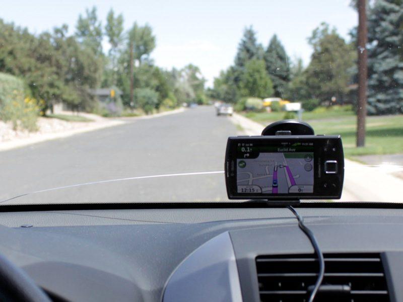 In Car Off Road Vehicle Mount Satmap