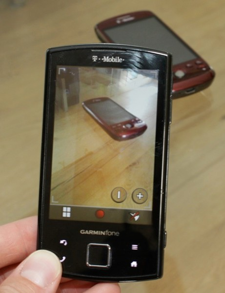 The Garminfone's camera works, but is somewhat disappointing in the current smartphone space
