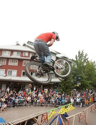 The event is best known for the Monster Energy Slopestyle, which takes place on Saturday