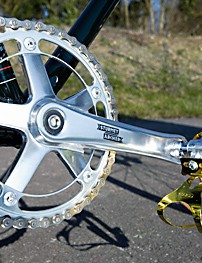 Sturmey Archer chainset – complete with a Cooper design chainring