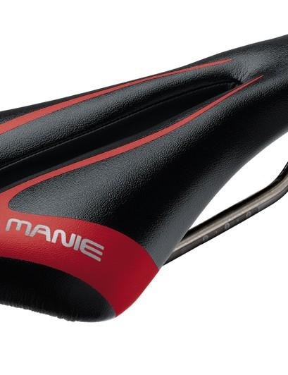 S Manie Mask Race saddle (independent 'wings' on carbon/nylon base, titanium rails, 183g, £79.95)