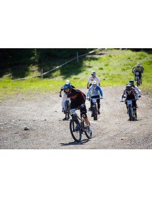 Junior riders take on the Canadian Open Enduro