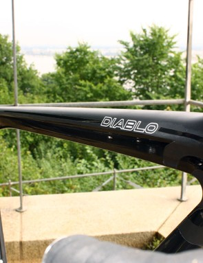Top tubes are slightly sloping on both of the new NeilPryde road bikes